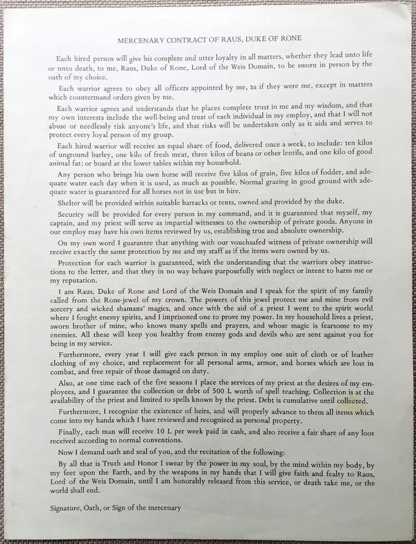 Chaosium Borderlands Mercenary contract-small
