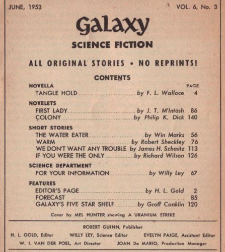 Galaxy June 1953 contents-small