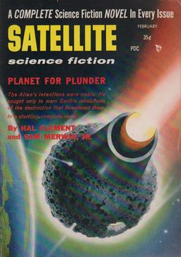 Satellite Science Fiction February 1957-small