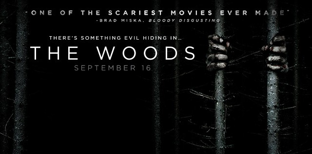 The Woods movie banner