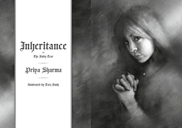 Black Static 53 Inheritance, or The Ruby Tear by Priya Sharma