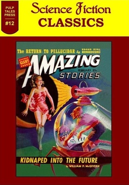 Science Fiction Classics 12 Pulp Tales Press-small