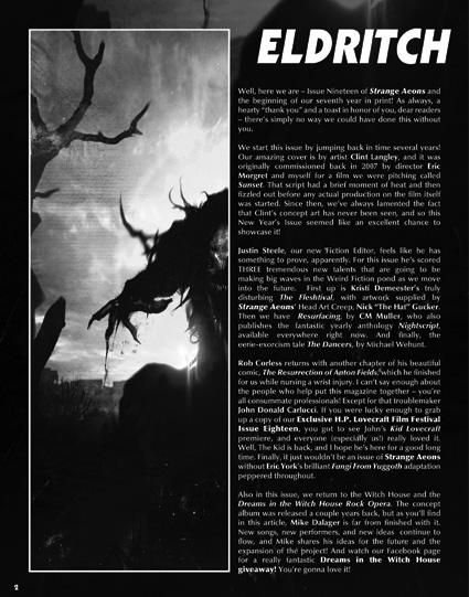 Strange Aeons 19 page 2