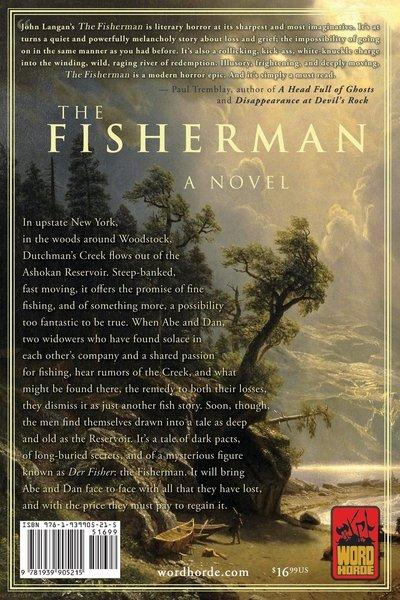 The Fisherman John Langan-back-small