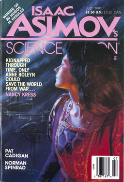 """Isaac Asimov's Science Fiction Magazine, July 1991, containing """"And Wild For to Hold."""""""