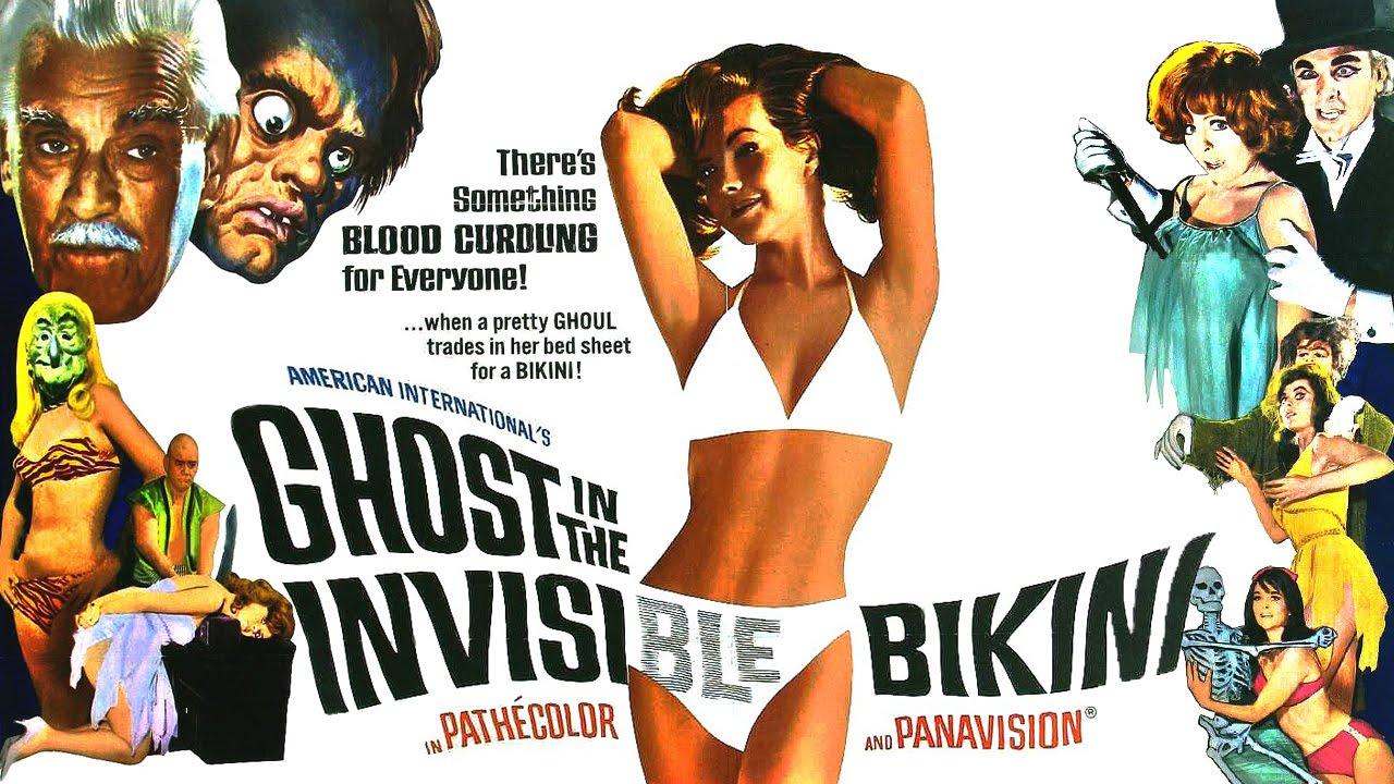 Invisible bikini contest