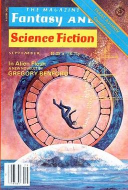 """The Magazine of Fantasy and Science Fiction, September 1978, containing """"In Alien Flesh"""""""