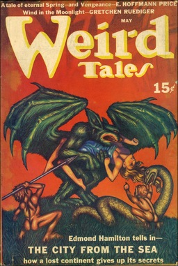 Weird Tales, May 1940, containing E. Hoffman Price's XX