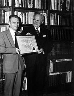 Perry with Harry S. Truman
