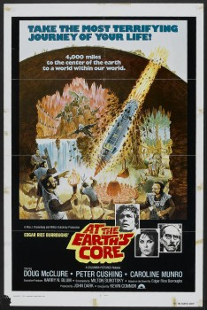 At the Earth's Core Original One Sheet