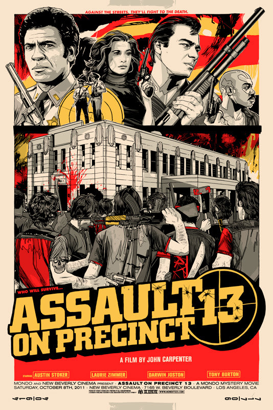 Assault on Precinct 13 Mondo Poster