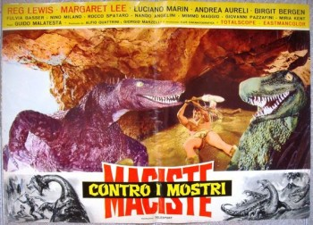 colossus of the stone age Italian poster