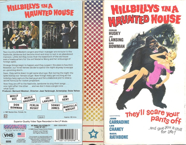Hillbillies in a Haunted House VHS box-small