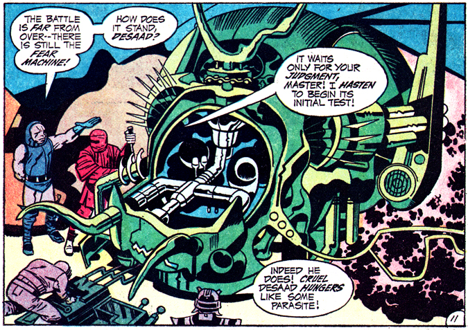 Jack Kirby Fear Machine