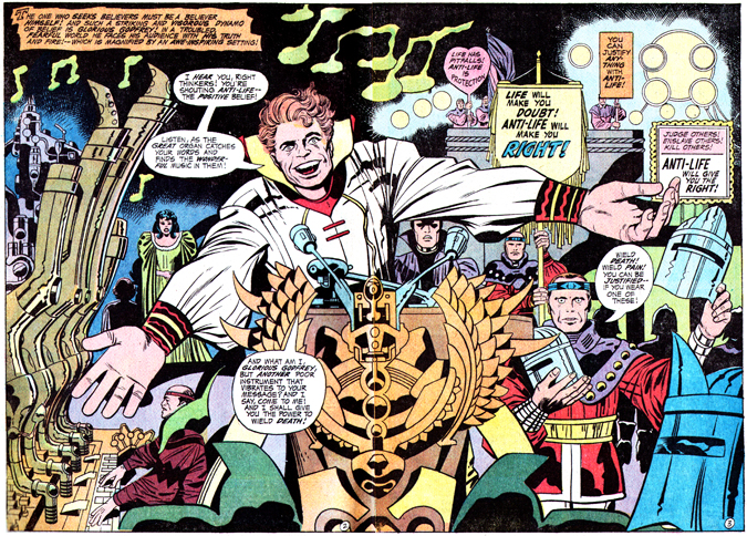 Jack Kirby Glorious Godfrey