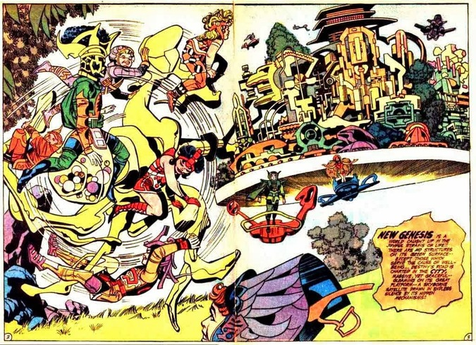 Jack Kirby New Genesis-small