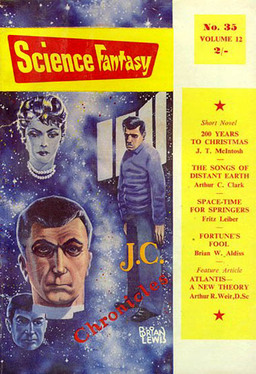 Science Fantasy 35, June 1959, containing 200 Years to Christmas