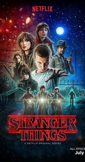 Stranger Things poster-small