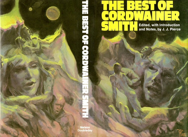 The Best of Cordwainer Smith hardcover wrap