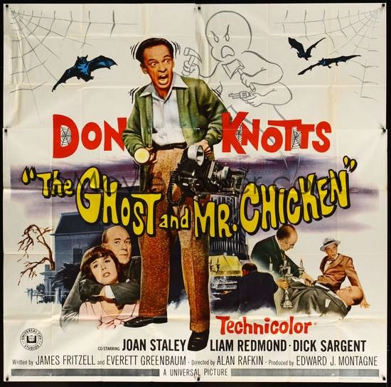 The Ghost and Mr Chicken poster