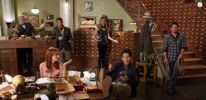 Image result for the librarians cast