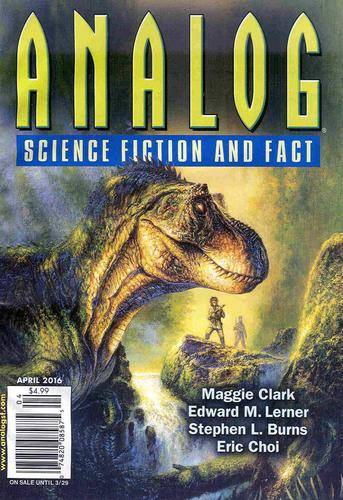 Analog Science Fiction and Fact April 2016