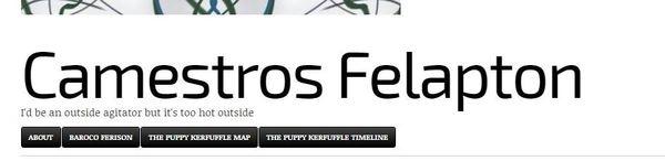 Camestros Felapton