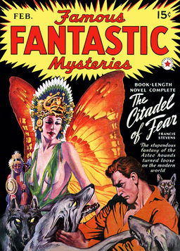 Famous Fantastic Mysteries The Citadel of Fear-small