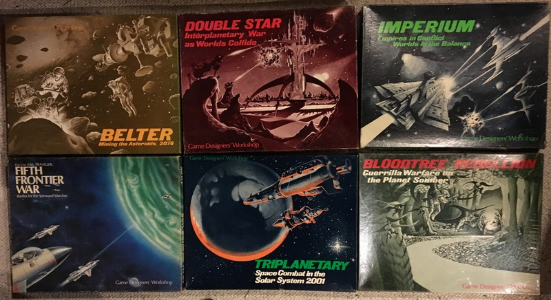 GDW science fiction games-small