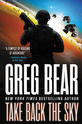 Greg Bear Take Back the Sky-small