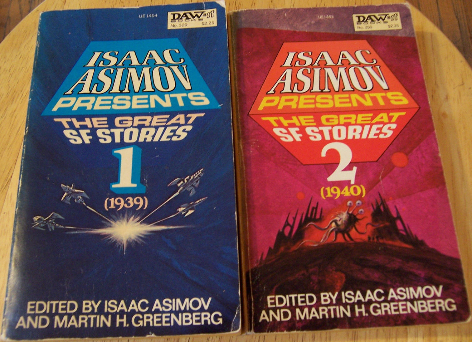 Isaac Asimov Presents the Great SF Stories 1 and 2-small