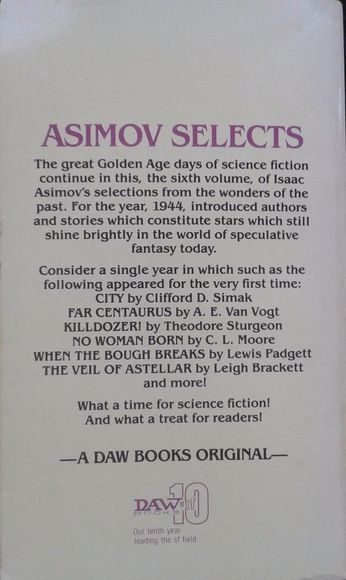 Isaac Asimov Presents the Great SF Stories 6 1944-back 2-small