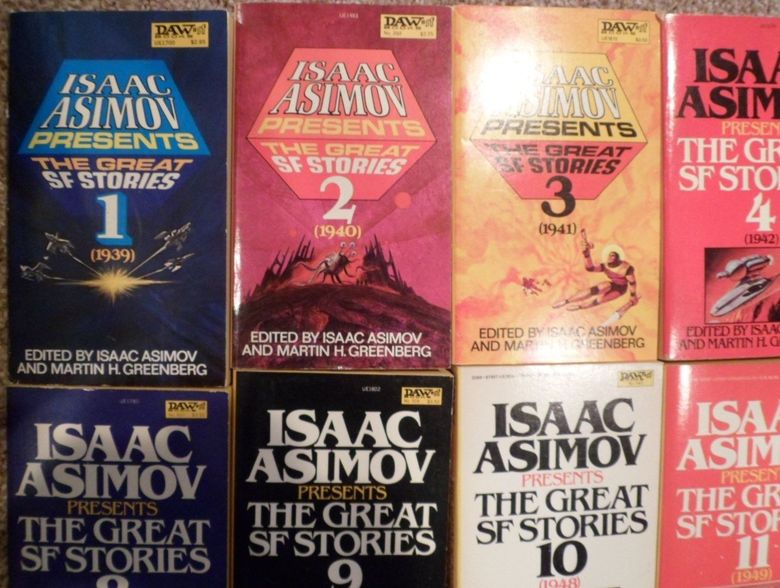 Isaac Asimov Presents the Great SF Stories lot 2-small