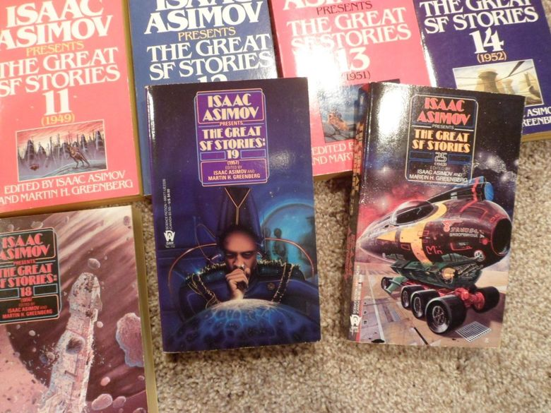 Isaac Asimov Presents the Great SF Stories lot 3-small