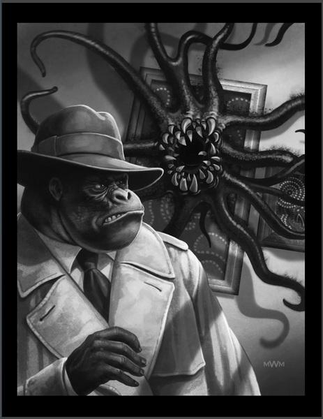 Occult Detective Quarterly 1-GotMy Mojo Working small