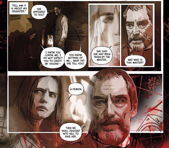 Penny Dreadful comics