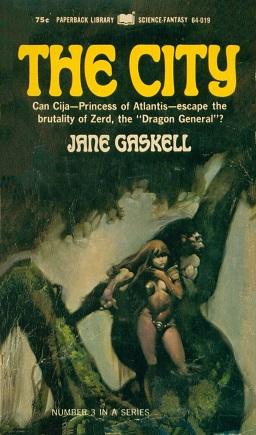 Paperback Library Frank Frazetta Cover