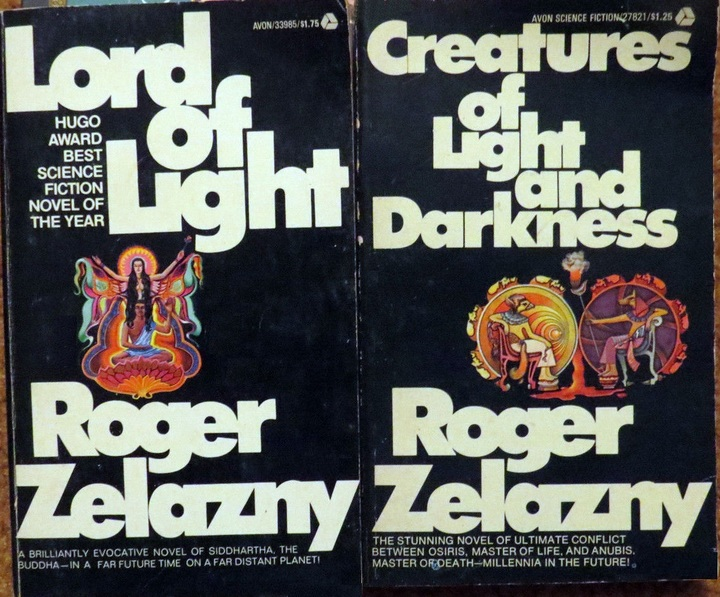 Zelazny Lord of Light Creatures of Light and Darkness-small