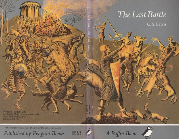 Image result for C.S. Lewis The Last Battle