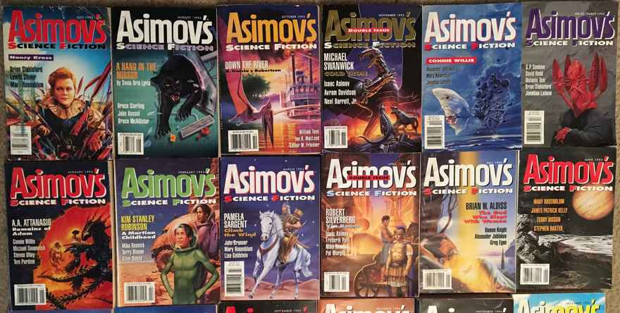 Asimov's Science Fiction of the 1990s 1-small