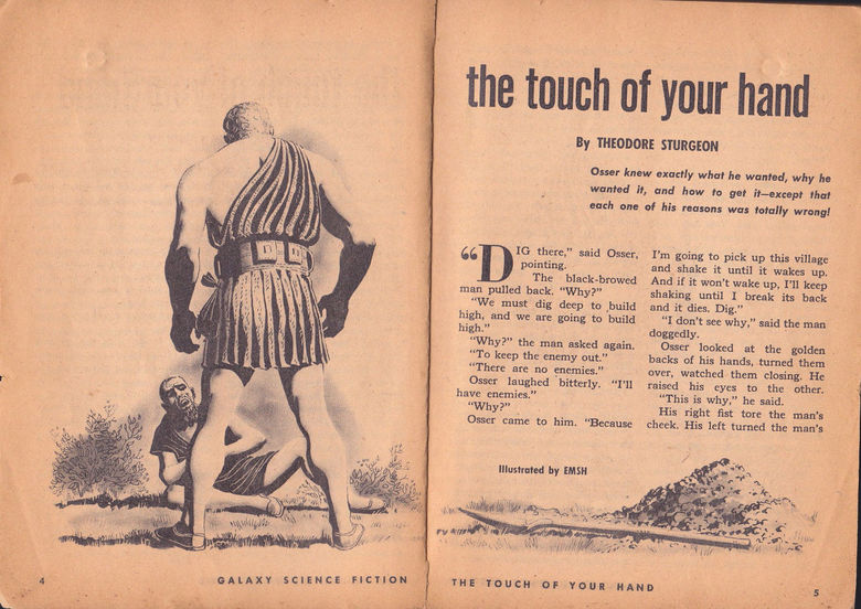 Galaxy Science Fiction September 1953 The Touch of Your Hand-small