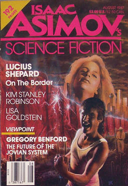 Isaac Asimov's Science Fiction Magazine August 1987-small