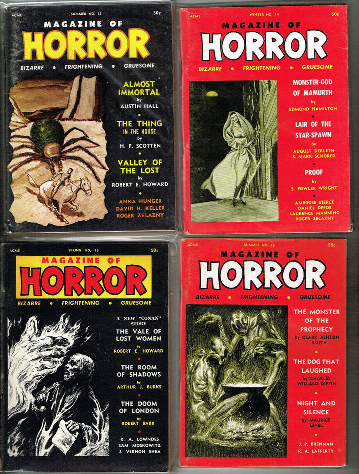 Magazine of Horror lot 3-small