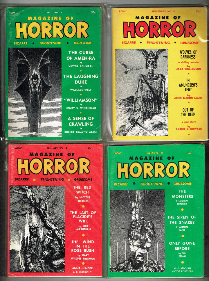Magazine of Horror lot 4-small