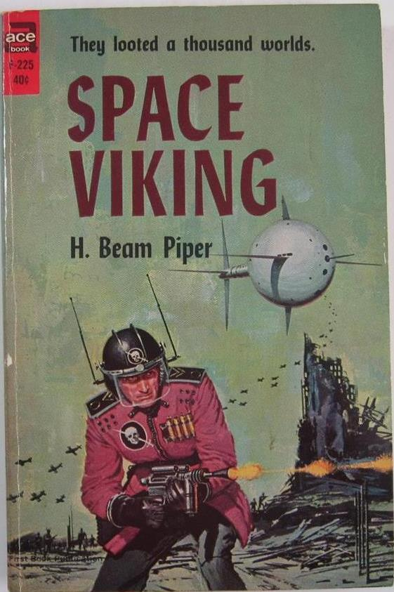 space viking piper h beam