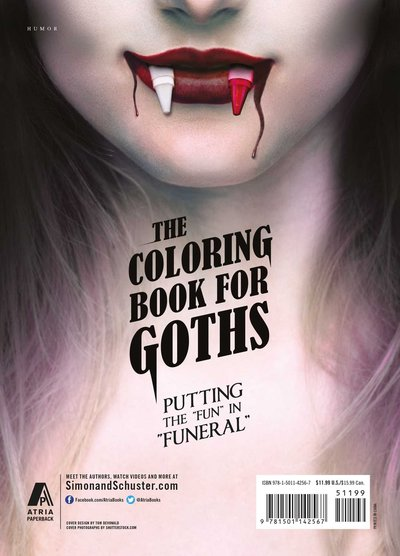 The Coloring Book for Goths The World's Most Depressing Book-back-small