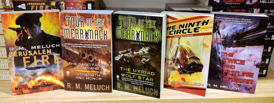Tour of the Merrimack by R.M. Meluch-small