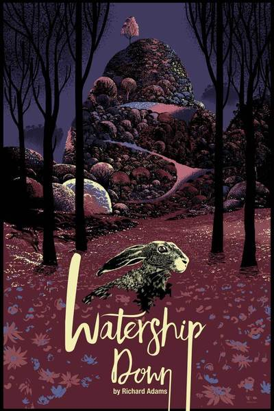 Watership-Down-Poster by Raid71 blue-small