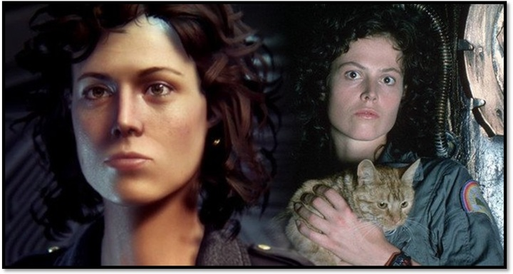 Alien digital Sigourney Weaver-small