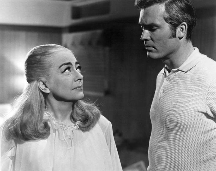 BERSERK!, 1967, Joan Crawford and Ty Hardin